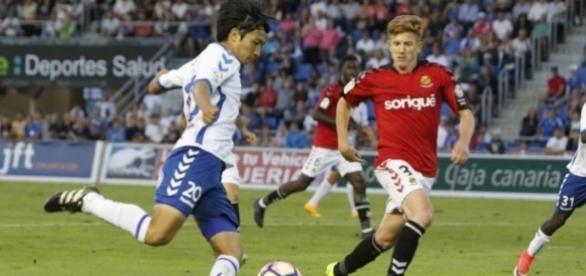 Gaku Shibashaki, estrella del Club Deportivo Tenerife