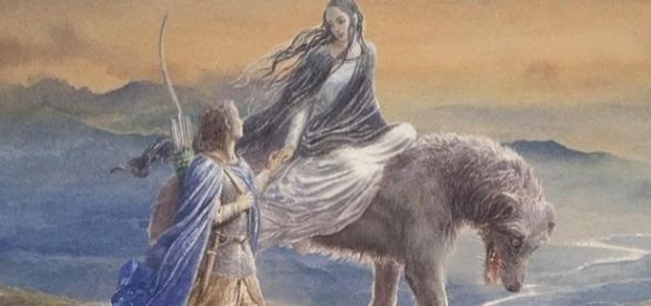 História de amor de Beren e Lúthien foi inspirada na esposa de J.R.R. Tolkien. Foto: Divulgação.