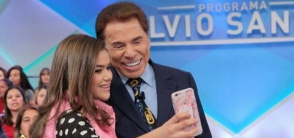 Silvio também já foi criticado por algumas brincadeiras com Maísa