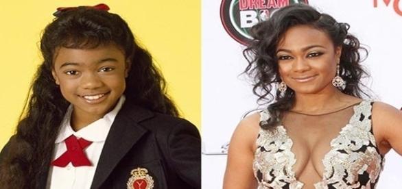 """Atriz Tatyana Marisol antes e depois da série """"Um Maluco no Pedaço"""" (Foto/Google)"""