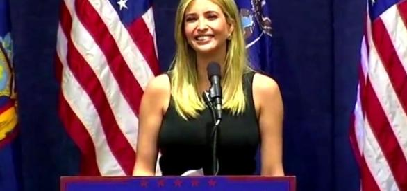 Ivanka pushes White House agenda while defending father from media attacks. Photo via President Trump Live News, YouTube.