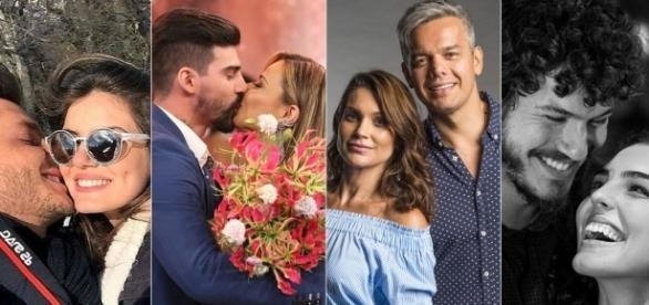 No 'Dia dos Namorados', famosos se declaram para os seus amores
