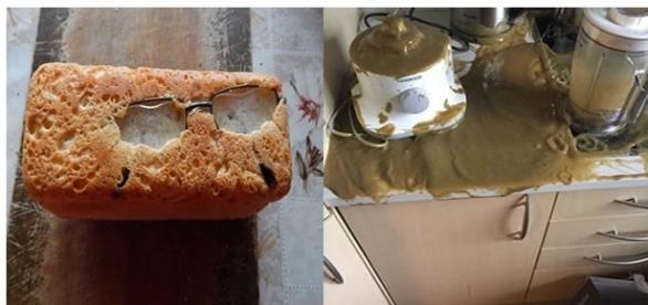 Situações desastrosas causadas por pessoas que não deveriam estar em uma cozinha
