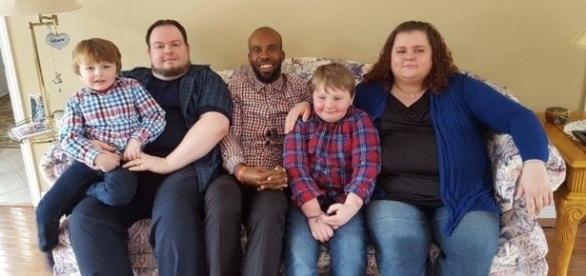 Doador de medula e a família do bebê salvo