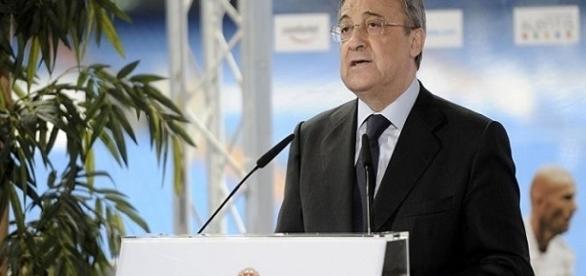Florentino Pérez presidente del Real Madrid C.F