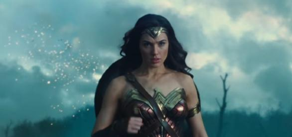 Gal Gadot plays as a superhero in Wonder Woman directed by Patty Jenkins Source: Warner Bros. Pictures