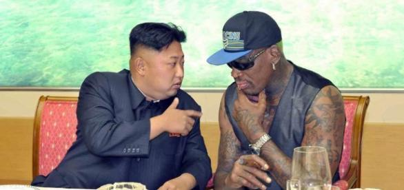 Has Dennis Rodman spoken with Donald Trump before visiting North Korea?