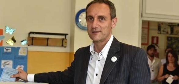 Il candidato del M5S ad Asti, Massimo Cerruti