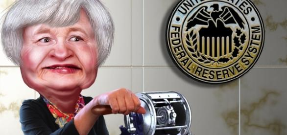 Janet Yellen Credits:flickr https://www.flickr.com/photos/donkeyhotey/10547392033