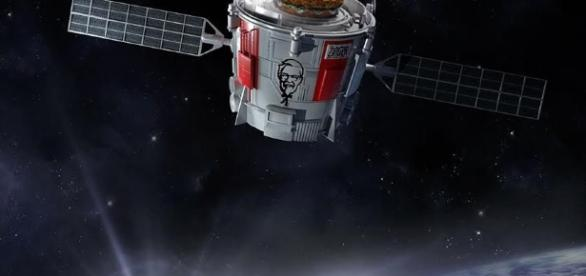 KFC Zinger into space - flipboard.com