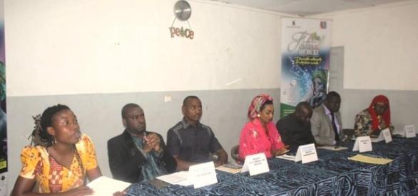 Le Panel du Festival ME-MI-KE lors du point de presse à Yaoundé