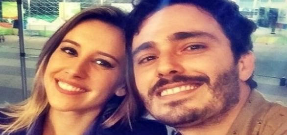 'Baixaria global'! Thiago Rodrigues e Cris Dias discutem na porta da emissora