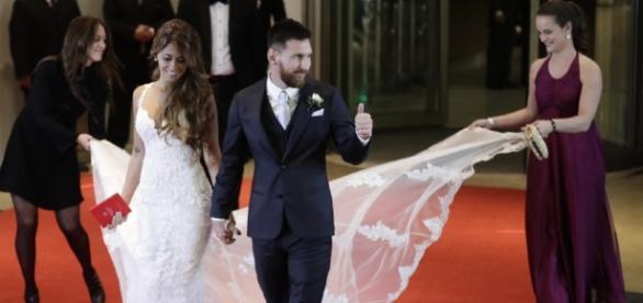 La fenomenal boda de Leo Messi y Antonella