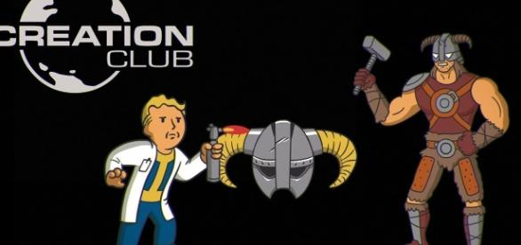 """Bethesda just announced a new feature called Creation Club for all modders of """"Fallout 4"""" and """"Skyrim"""") (via YouTube/Bethesda Softworks)"""
