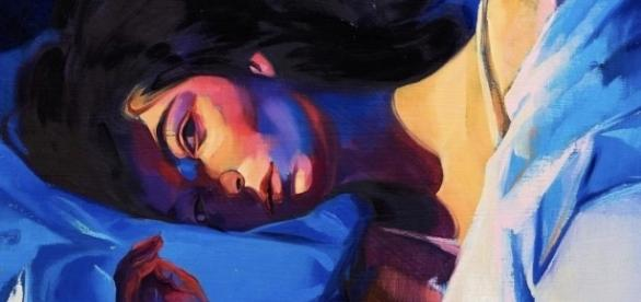 "Source: Lorde's Instagram | Cover of ""Melodrama"" painted by Sam McKinniss"