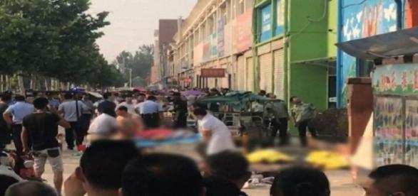 Une explosion devant une école en Chine a fait 8 morts et 65 blessés
