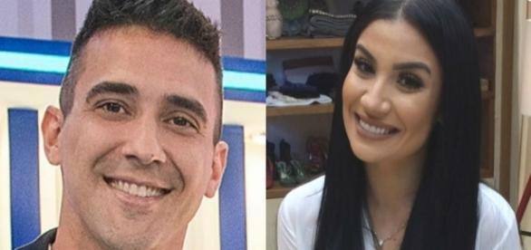 André Marques ofereceu pamonha a Bianca Andrade