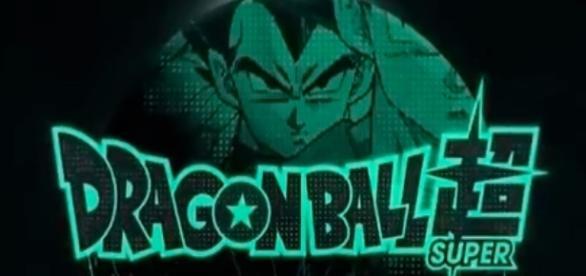 Dragon Ball Super tv show logo image via a Youtube screenshot by Andre Braddox