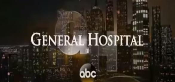 General Hospital tv show logo image via a Youtube screenshot by Andre Braddox