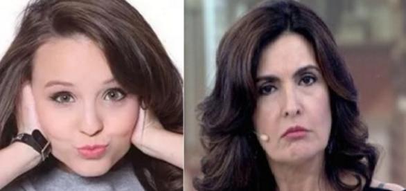 Larissa Manoela tem encosto e Fátima Bernardes vai ficar encalhada por um bom tempo. Palavras da Sense Márcia