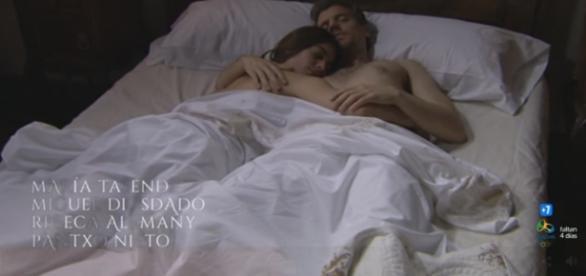 Una Vita, anticipazioni: Teresa e Mauro fanno l'amore