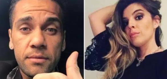 Daniel Alves é atacado por filha de Maradona - Google