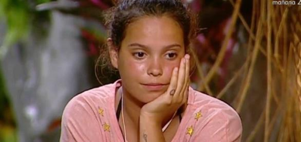 Gloria Camila no adelgaza en Supervivientes.