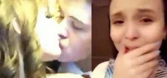 João Guilherme beija atriz - Google