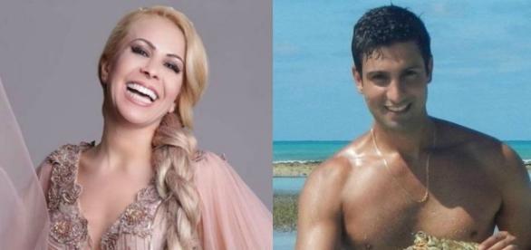 Joelma recebe elogios com a escolha do seu novo namorado (Fotos: Reprodução)