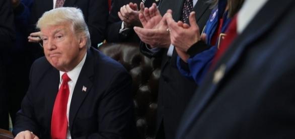 Lawmaker calls for complete shutdown of Trump agenda over possible ... - image source BN library