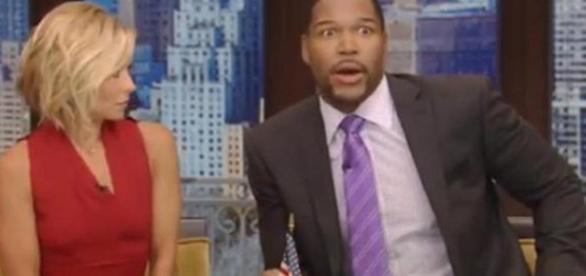 Michael Strahan from YouTube Screenshot