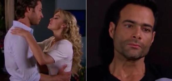 Montserrat e Alessandro têm uma tórrida noite de amor