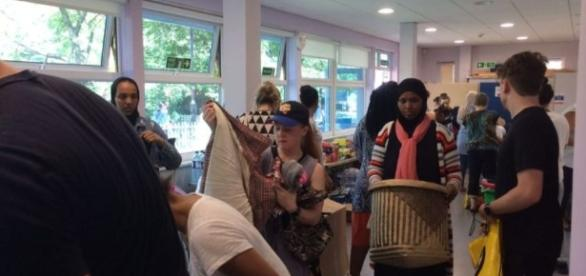 pulls together in colossal effort after Grenfell Tower fire - swlondoner.co.uk