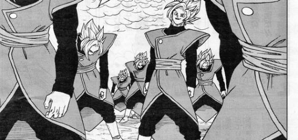 Zamasu se multiplica en el capítulo 25