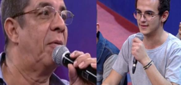 Zeca Pagodinho dá fora em garoto (Foto: Captura de vídeo)