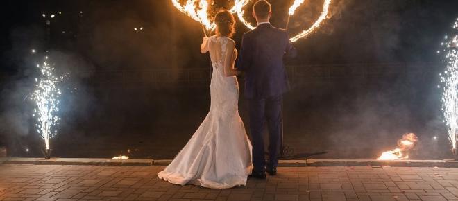 Un mariage qui se déroule dans la nuit !