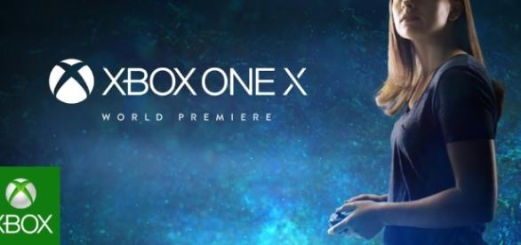 Introducing the World's Most Powerful Console: Xbox One X - cap from Xbox Youtube