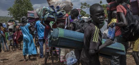 Refugee photo via wikimedia commons