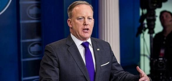 Sean Spicer might no longer serve as the Press Secretary - Flickr/Daykan com