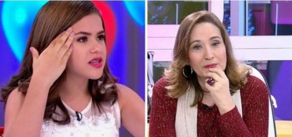Sônia Abrão desferiu várias criticas a Maísa