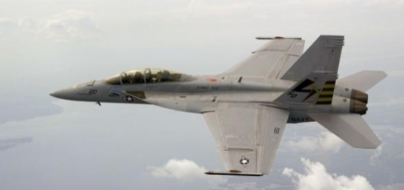 US Navy's F-18 Super Hornet | via Wikipedia Commons