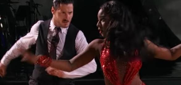 Val in a 'DWTS' Screenshot from YouTube