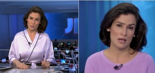 A jornalista causou vários comentários (Foto: Globo )