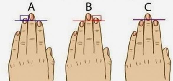Através da 'teoria do dedo anelar' é possível distinguir traços pessoais (Foto: Reprodução)
