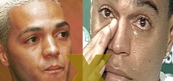 Belo e Denílson entram em briga por dívida. (Foto: Google)