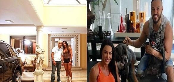 Casal está devendo aluguel de mansão, localizada no Rio de Janeiro