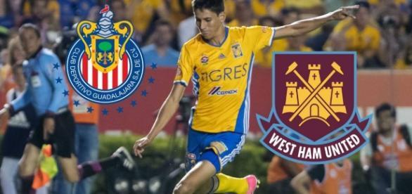 El West Ham persigue a este jugador del Chivas. Foto vía AS USA