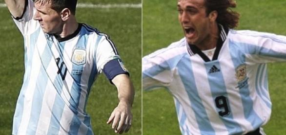 Goleadores de la selección argentina