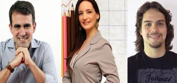 Jeronimo Theml, Isabela Minatel e Murilo Gun - Google