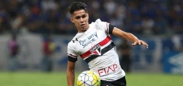 Luiz Araújo marcou nove gols com a camisa do Tricolor